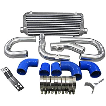 Front Mount Intercooler Kit + Turbo Intake Kit For 2011+ Chevy Sonic 1.4T