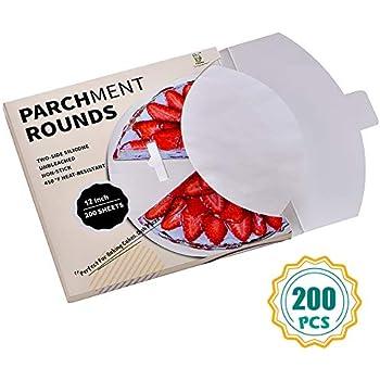 Amazon.com: KAIDA Parchment Paper Rounds - 120-Count 8 Inch ...