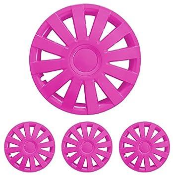 Diseño alfombrillas de Deluxe 888888895 Tapacubos – Tapacubos Tapacubos 5 unidades en Set Taga Rosa