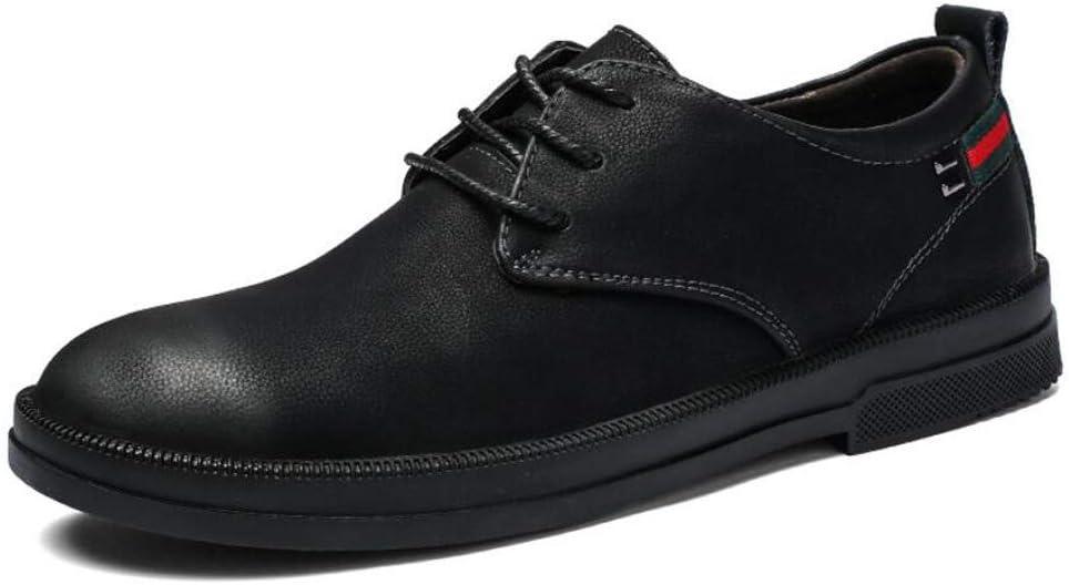 Zxcvb Alivio del Dolor comprobado Fascitis Plantar Ortopédica Cómodo Diabético Pies Planos Gramercy Zapatos de Vestir para Hombres Negro (Color : Negro, tamaño : 43)