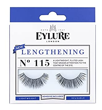 b346c1a5389 Amazon.com: Eylure Strip Lashes, Lengthening Number 115 by Eylure ...