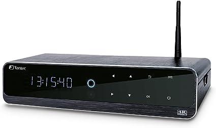 Fantec 4KP6800 - Reproductor Multimedia Android para TV (4K, HD, WiFi, admite Disco Duro SATA de 3.5