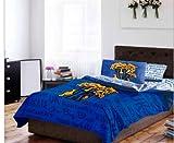 Kentucky Wildcats NCAA QUEEN Comforter & Sheets (5 Piece Bed In A Bag)