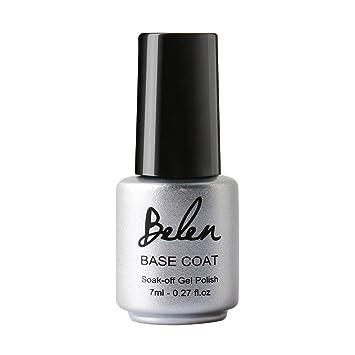 Amazon.com : Belen Gel Nail Polish Soak Off UV LED Base Coat : Beauty