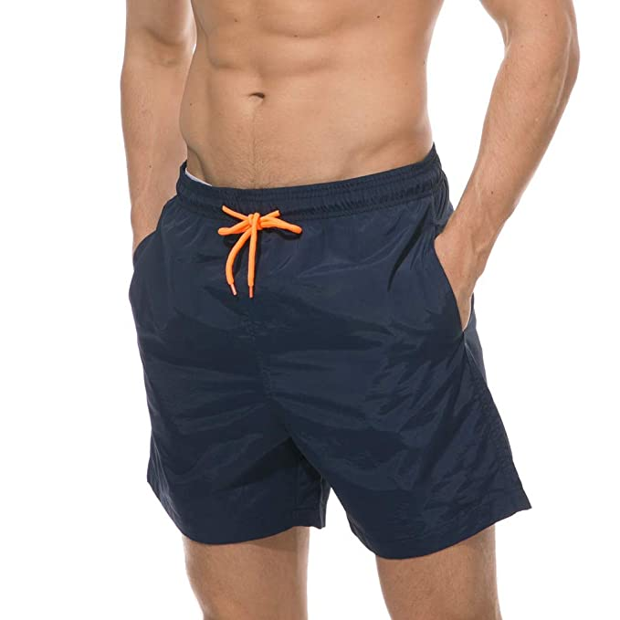 840fc2ef7404 Hombre Bañador Traje de Baño Pantalones Cortos Playa Piscina,ZARLLE ...