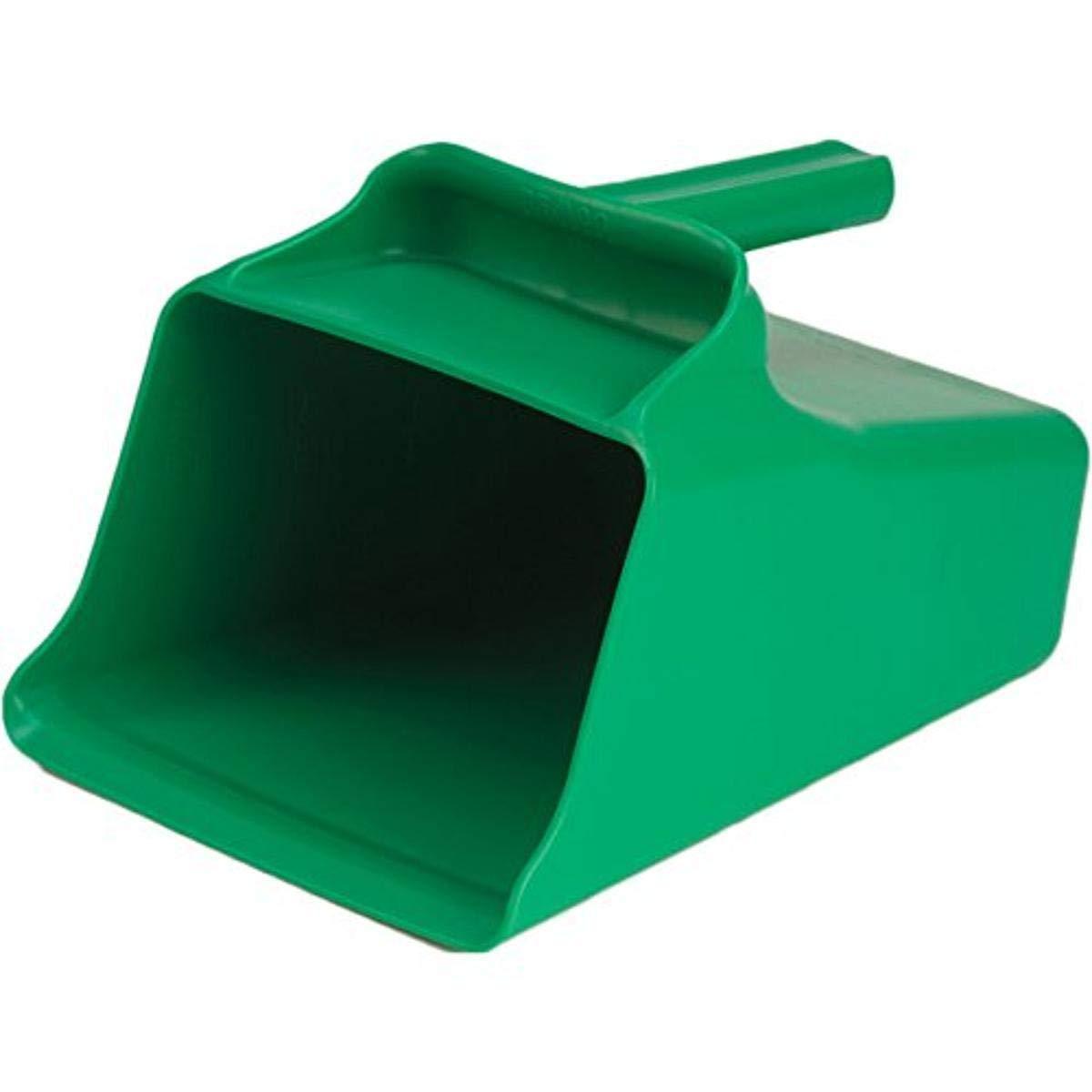 Remco 65502 Green Polypropylene Injection Molded Color-Coded Bowl Mega Scoop, 128 oz, 1 Piece