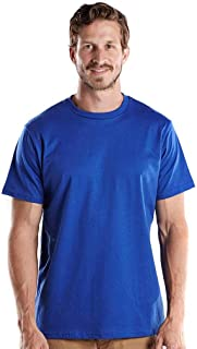 product image for US Blanks US2000 Men's Made in USA Short Sleeve Crew T-Shirt Royal Blue