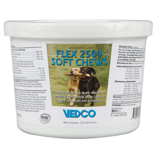 - Flex 2500 Soft Chews - 120 ct - Joint Health for Dogs