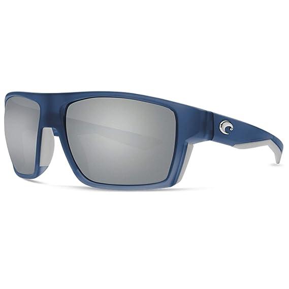 f4d20337c8 Costa Del Mar Costa Del Mar BLK193OSGGLP Bloke Gray Silver Mirror 580G  Bahama Blue Fade Frame