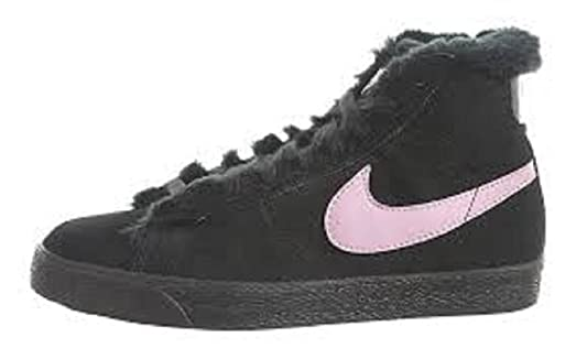 Nike Kids Blazer Boots (PS) 407899 001 Black/Perfect Pink US 1