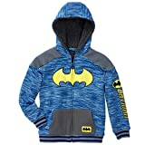 C-Life DC Comics Batman Little Boys Sherpa Fleece Zip Up Hoodie (5)