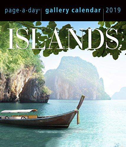 Islands Page-A-Day Gallery Desk Calendar 2019 [6.25
