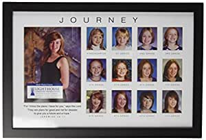 Lighthouse Christian Products Journey Through The Years Frame Collage, 13 x 8 7/8""