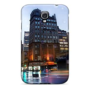 Durable Case For The Galaxy S4- Eco-friendly Retail Packaging(new York Broadway)