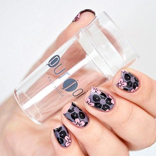 Amazon.com : Clear Nail Art Stamper Silicone Stamping