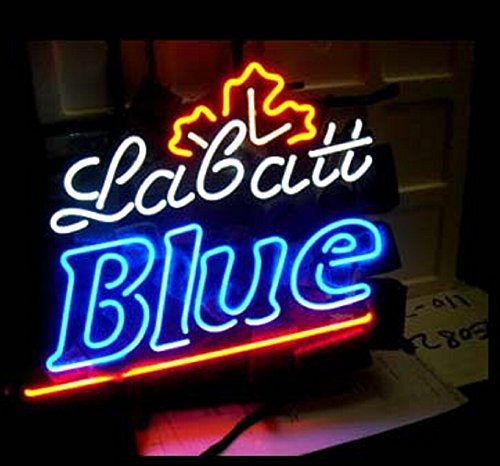 Urby™ LABATT BLUE Neon Sign Neon Light Beer Bar Pub for sale  Delivered anywhere in USA