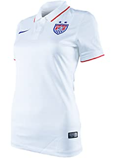 Nike Womens U.S. World Cup 2014 Stadium Jersey - Size XS White 578013 105
