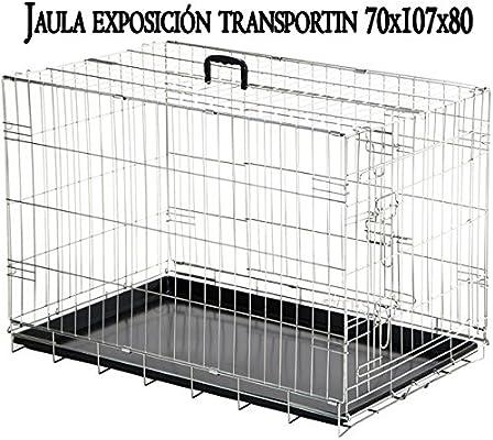 Suinga - Portador Jaula exposición Plegable Metálica para Mascotas ...