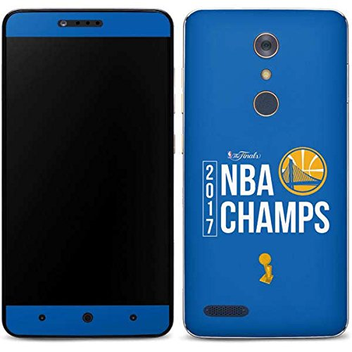 NBA Golden State Warriors ZTE ZMAX Pro Skin - Golden State Warriors 2017 NBA Champs Vinyl Decal Skin For Your ZMAX Pro -