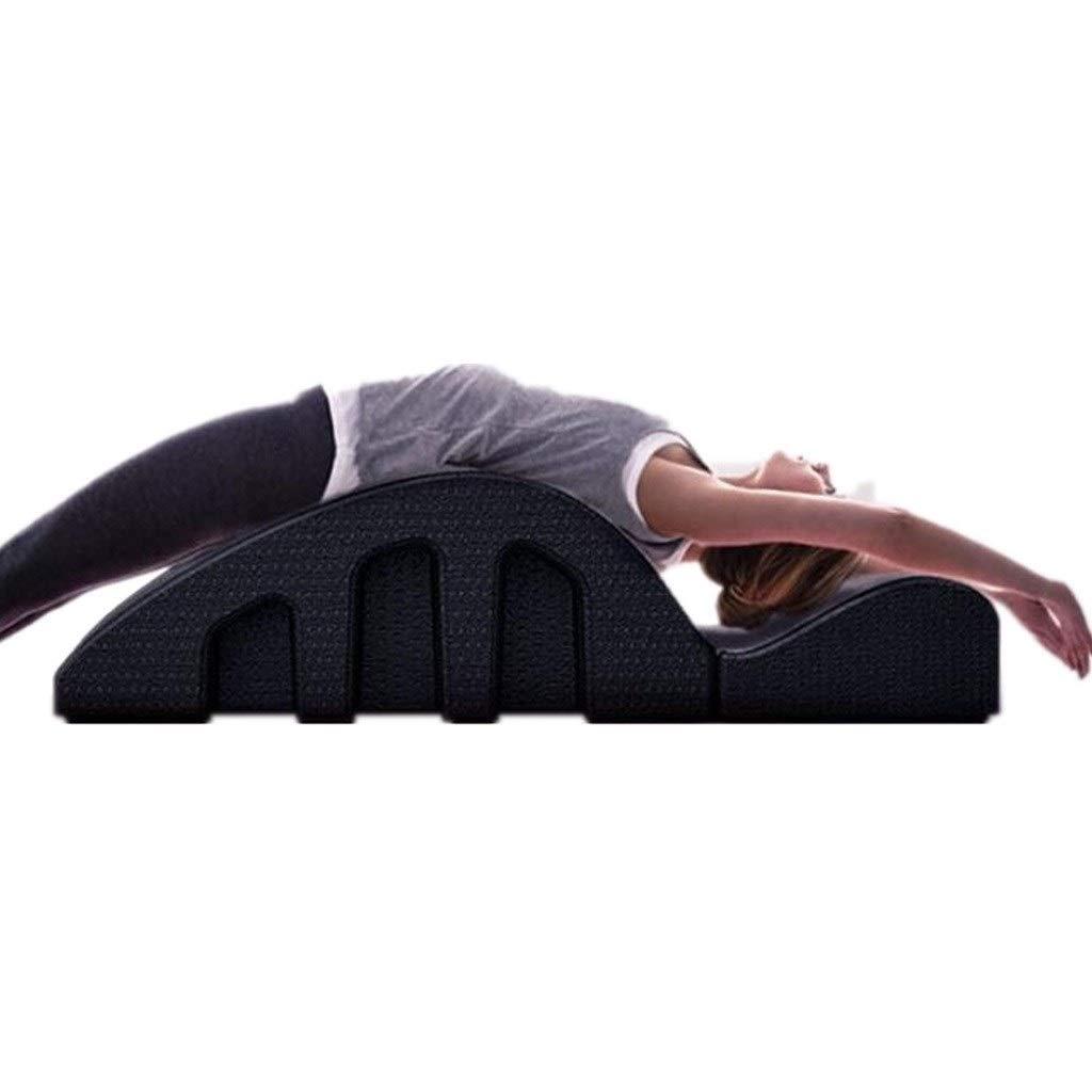 Spinal Orthosis Sports Pilates, Massage Spine Correct Adjuster, Yoga Fitness Equipment- Black Home