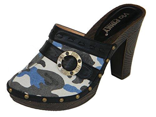 via-pinky-women-trendy-heel-slides-black-camouflage-print-faux-leather-trim-wood-valentine-deal