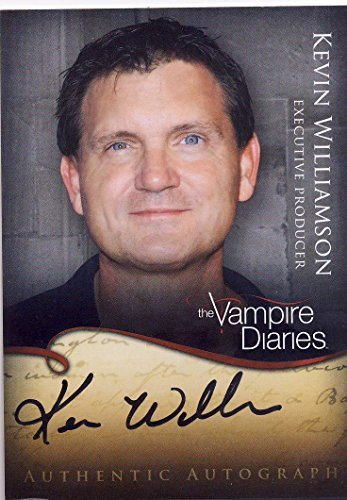 Vampire Diaries Season 1 Trading Cards A12 Kevin Williamson – Executive Producer Autograph