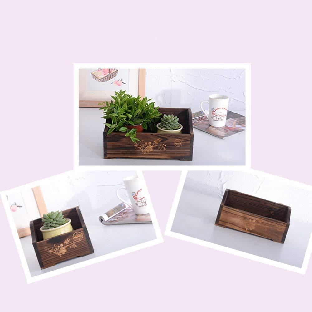 HhOro HhOro HhOro Windowsill Planter Display Shelf Suspension Desk Estante para macetas Succulents Potted Plant Stand Mini Oficina de Escritorio (Tamaño: 25 y Tiempos; 11 y Veces; 12 cm) ddac98