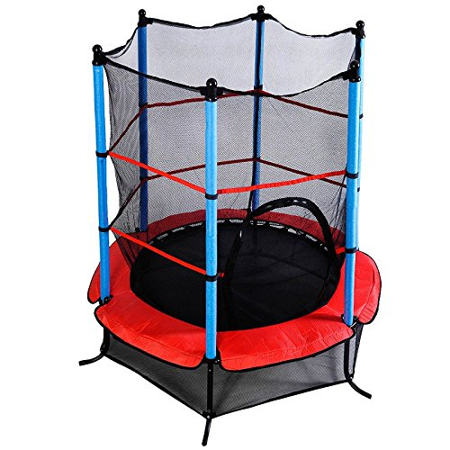 Exercise Round Youth Jumping Trampoline Safety Pad Enclosure