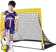 Dimples Excel Soccer Goal Kids Soccer Net for Backyard 4'x3'