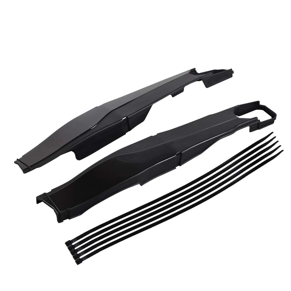 Nicecnc ABS Rear Swingarm Swing Arm Protector Guard Covers Kit Compatitable with K-TM 250/300 XCW,350 EXC F 2012-2019,200/450/500 XCW,500 EXC2012-2016,150 XCW,250/500 EXC F2017-2019(SEE FITMENT) by NICECNC