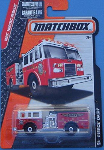 MATCHBOX 2015 RELEASE PIERCE DASH FIRE TRUCK -