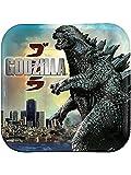 Godzilla 2014 8in Dinner Plate-8 count