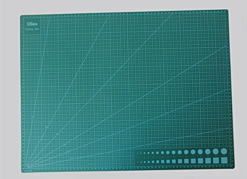 Cady Self Healing Rotary Cutting Mat Best for Quilting Sewing DAFA Professional Self-Healing, Double-Sided Cutting Mat, Rotary Blade Compatible, A3 (18x12) Professional Edition