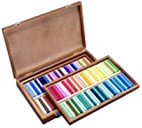 HOLBEIN Artists' Oil Pastels 100 Sticks Set (assorted in wood box) from Japan