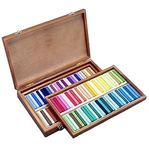 kitchen /& Home Sennelier Oil Pastel 120 Assorted Wood Box