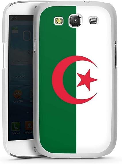DeinDesign Coque Compatible avec Samsung Galaxy S3 Étui Housse Drapeau Algérie Drapeaux