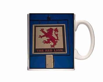 Down Red Magham Tasse Anglaise Signe Mug Pub En 340050 Sussex Lion CoEWQrdxBe