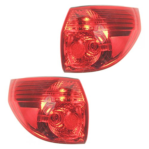 - Outer Taillamp Taillight Left & Right Pair Set for Sienna