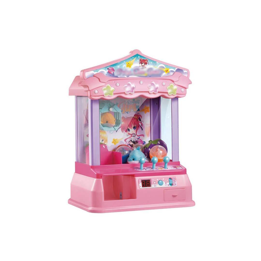 当店の記念日 GLJJQMY ミニキャッチ人形機子供コインハンドルクリップ人形キャッチキャンディーパズル小さな家庭用人形機、23.5×28.5×40.7センチ 子供の教育玩具 (色 : 青) B07H7JDDB9 Pink  Pink, Nale ダイレクト 0b518e1b