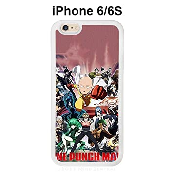 One Punch Man Characters for Funda iphone 6 & 6S blanco caso ...