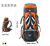 Jungle Rule 70+5L Outdoor Professional Mountaineering...