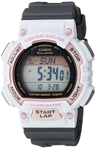 Casio Women's STL-S300H-4ACF Solar Runner Sport Watch ()