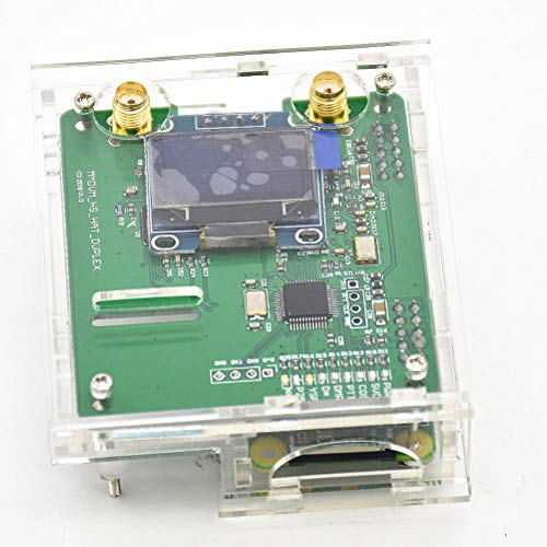 OUNONA MMDVM Hotspot Kit Support P25 DMR YSF and Raspberry Pi with Antenna  OLED Case(Clear)