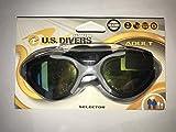 Aqua Lung US Divers Selector Polarized Goggle Gray/Colored Reflective Lenses 202860MA