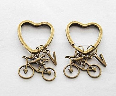 Ciclista Regalos Llaveros de Amante de la bicicleta ...