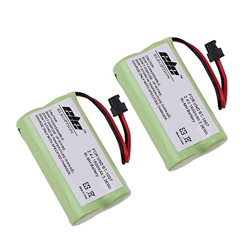 TOPCHANCES 2 Pack Cordless Phone Replacement Battery for ...