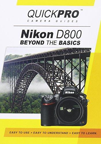 Nikon D800 Beyond the Basics DVD by QuickPro Camera ()
