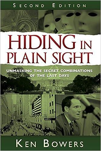 Amazon Hiding In Plain Sight 2nd Edition 9781599554372 Ken