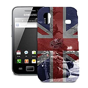 Phone Case For Samsung Galaxy Ace S5830 - SAS Special Forces Inspired Designer Slim