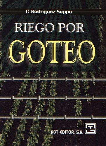 Descargar Libro Riego Por Goteo Florencio Rodriguez Suppo